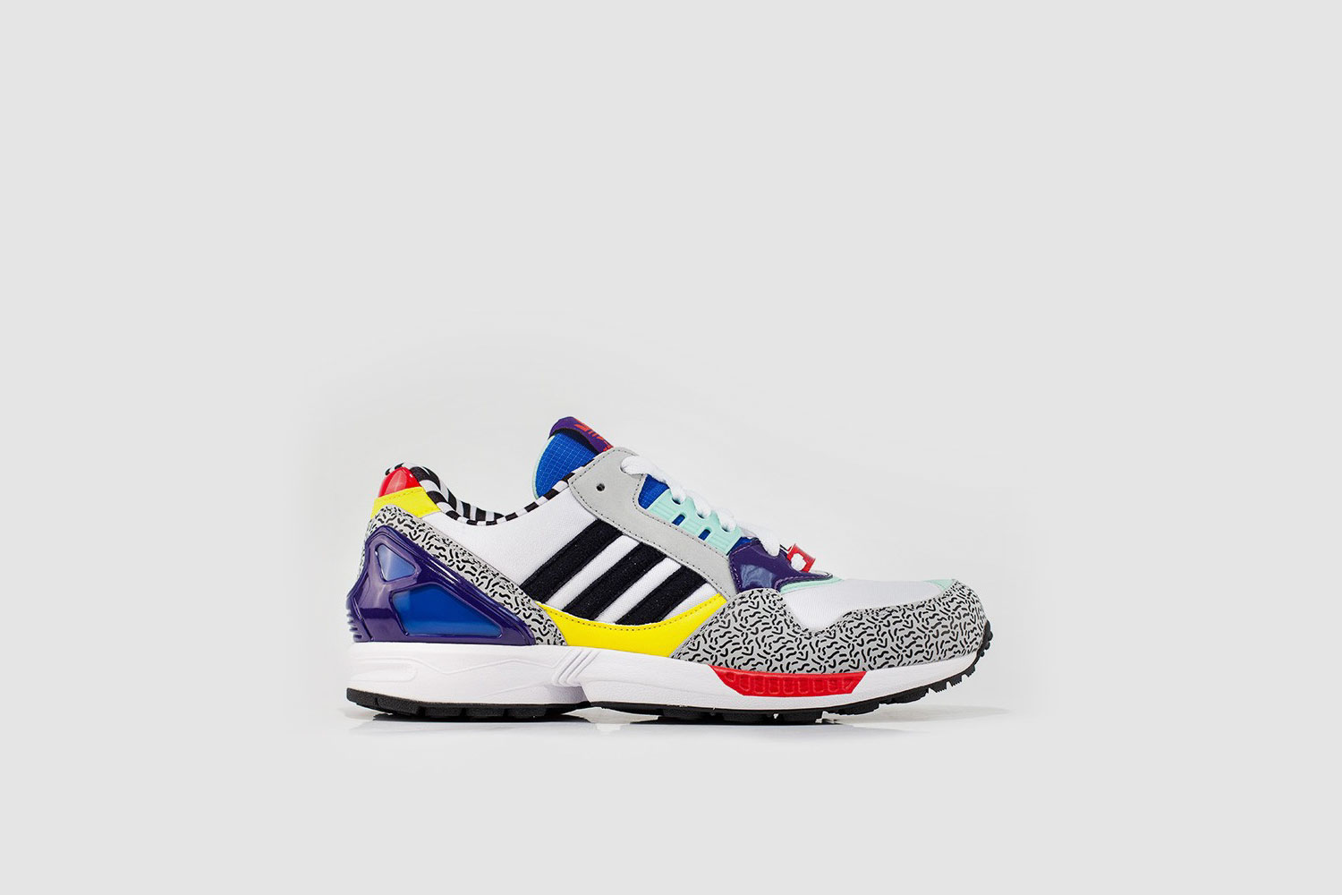 Memphis Group x Adidas ZX 9000 shoes