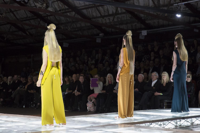 AUT rookie fashion show