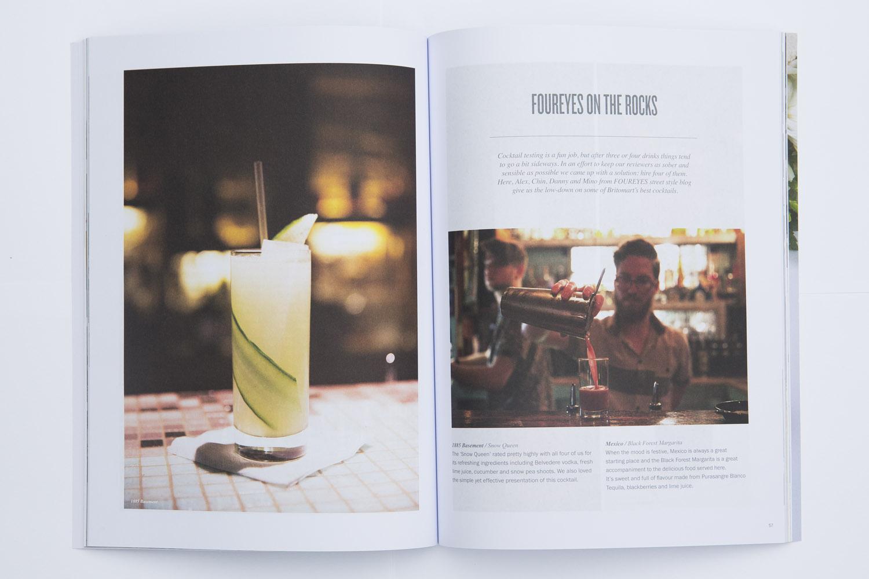 Foureyes contribution to Scenezine Magazine.
