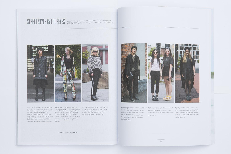 Foureyes feature in Scenezine Magazine.