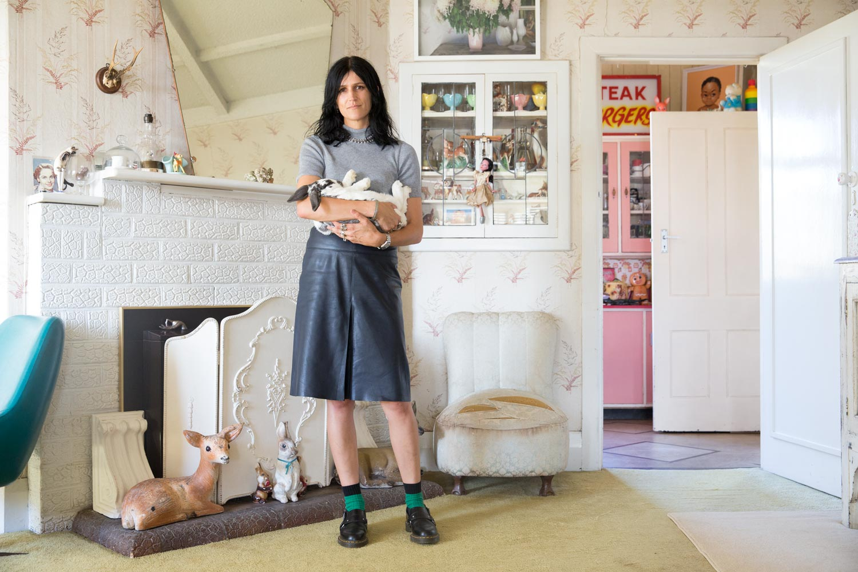 Topshop portrait Karen Inderbitzen-Waller stylist