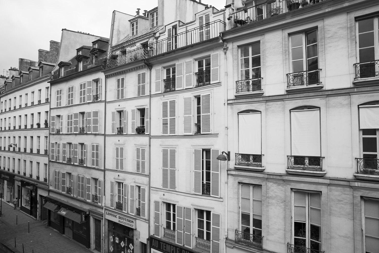Rue du Temple, Marais.