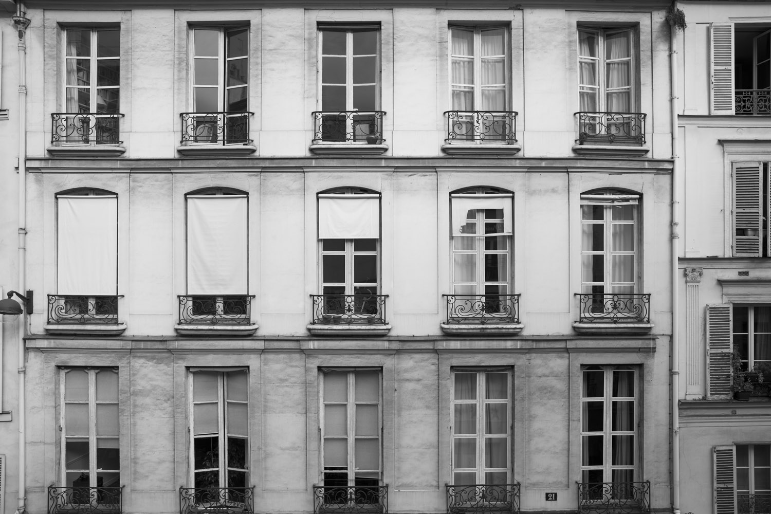 Apartment life in Paris.