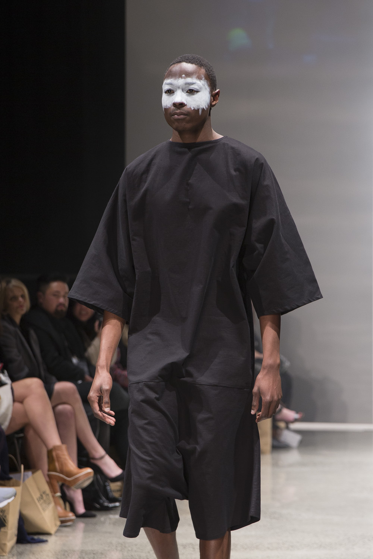 Jordan Holliday at New Zealand Fashion Week 2015
