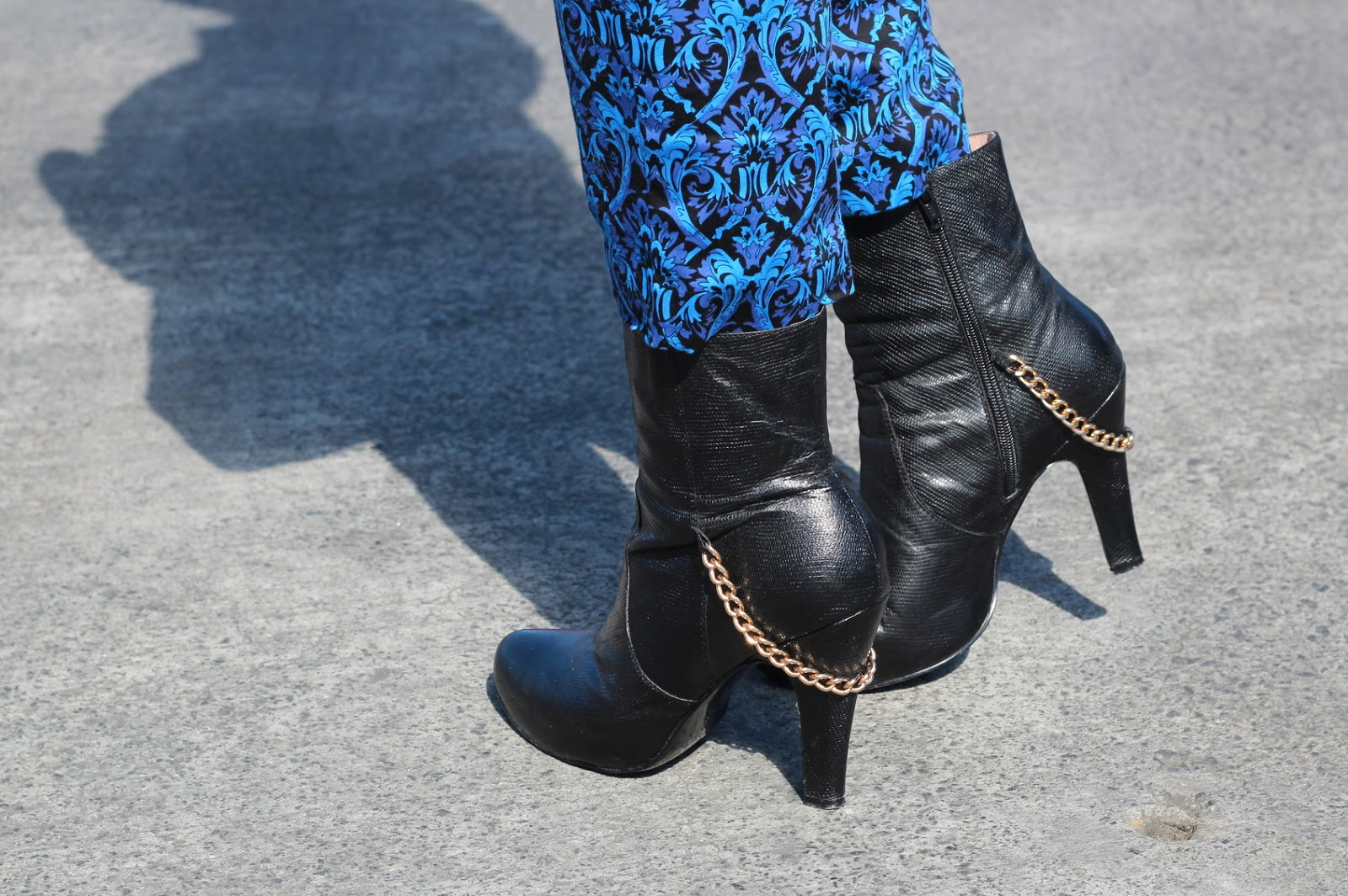 kathryn wilson boots with chain detailing