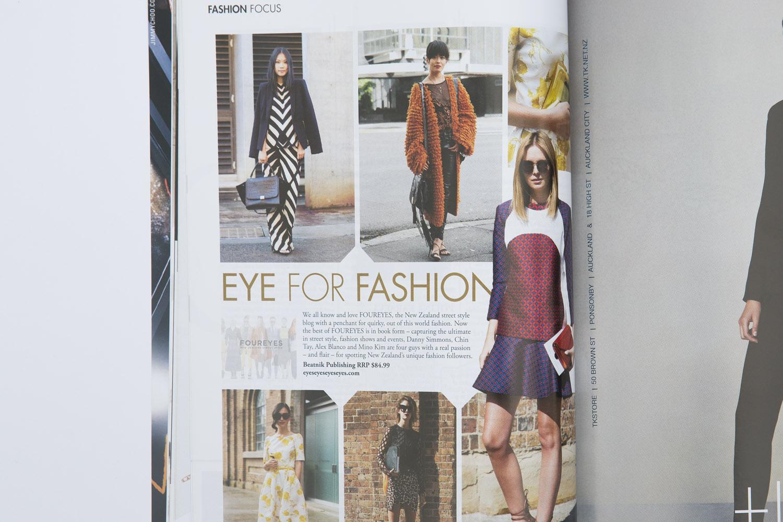 Foureyes in M2Woman magazine