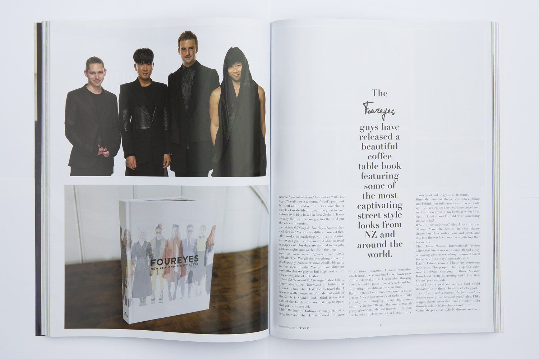 Foureyes in Remix Magazine